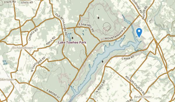 Quakertown, Pennsylvania Map