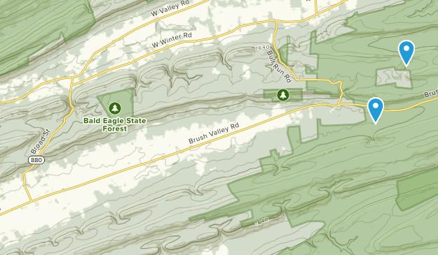 Rebersburg, Pennsylvania Map