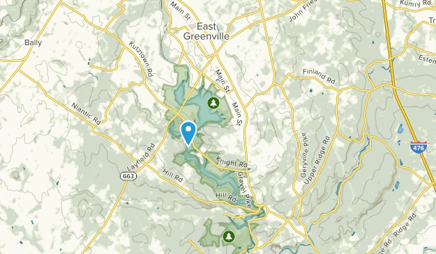 Red Hill, Pennsylvania Map