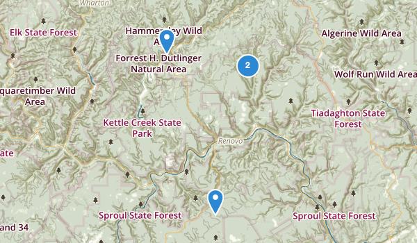 Renovo, Pennsylvania Map