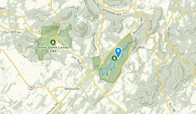 Rossville, Pennsylvania Map
