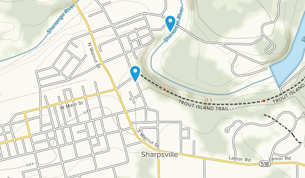 Sharpsville, Pennsylvania Map