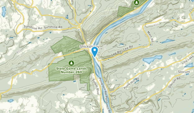 Shickshinny, Pennsylvania Map