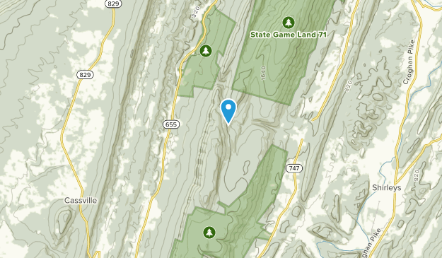 Shirley Twp, Pennsylvania Map