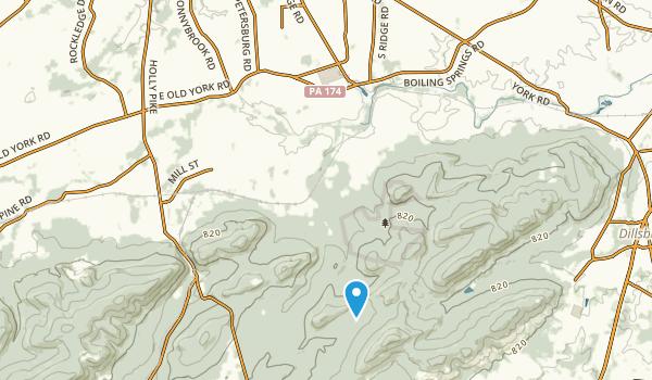 South Middleton, Pennsylvania Map