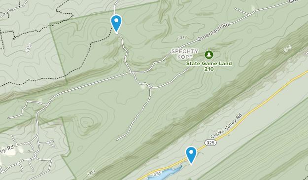 Spechty Kopf, Pennsylvania Map