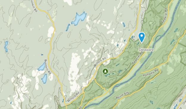 Tamiment, Pennsylvania Map