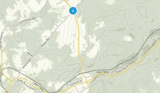 Thompson, Pennsylvania Map
