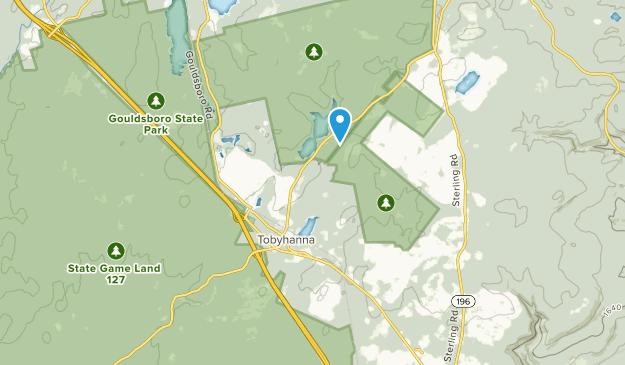 Tobyhanna, Pennsylvania Map