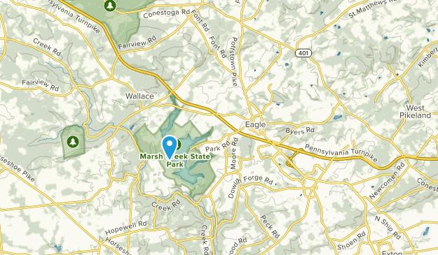 Upper Uwchlan, Pennsylvania Map