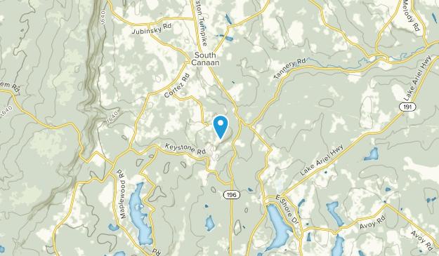 Varden, Pennsylvania Map