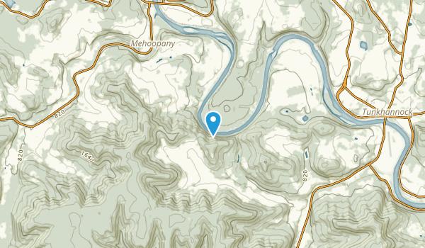 Vosburg, Pennsylvania Map