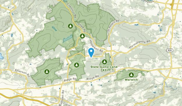 Warwick, Pennsylvania Map
