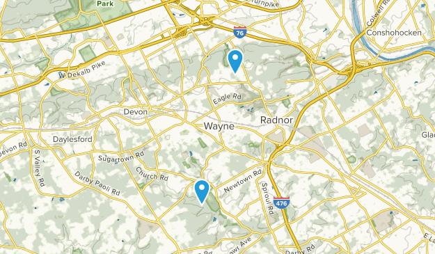 Wayne, Pennsylvania Map