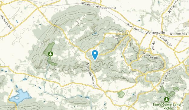 West Cocalico, Pennsylvania Map