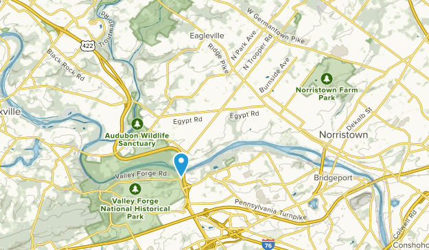 West Norriton, Pennsylvania Map