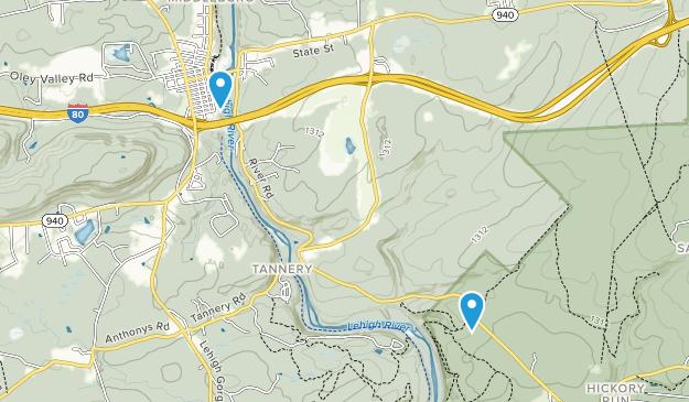 White Haven, Pennsylvania Map