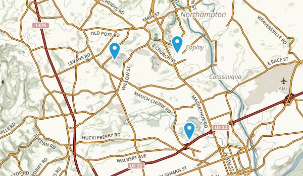 Whitehall, Pennsylvania Map