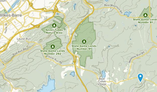 Wilkes Barre, Pennsylvania Map