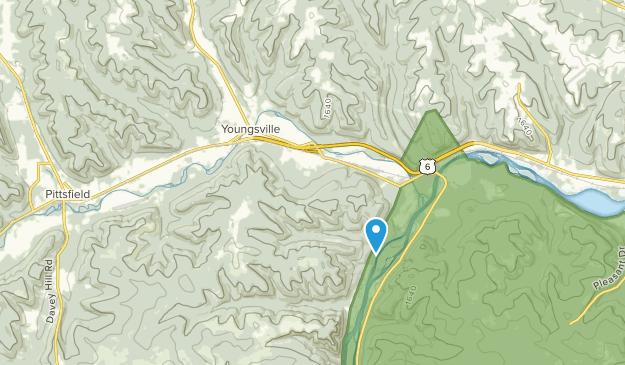 Youngsville, Pennsylvania Map