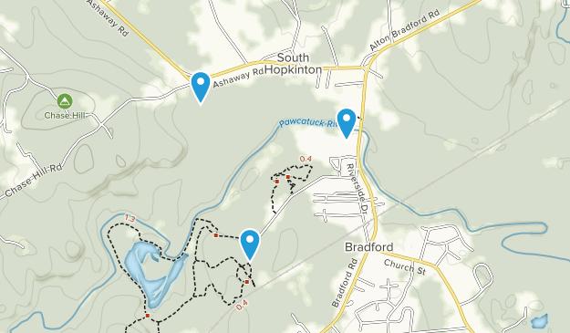 Bradford, Rhode Island Map