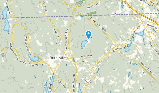 Burrillville, Rhode Island Map