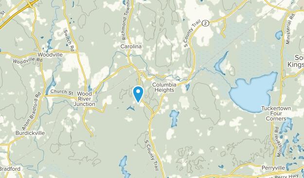 Columbia Heights, Rhode Island Map