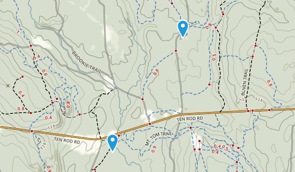 Lewis City, Rhode Island Map