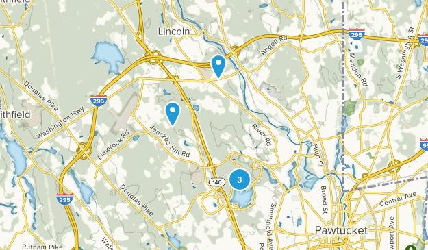Lincoln, Rhode Island Map