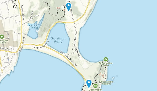 Middletown, Rhode Island Map