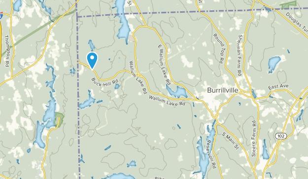 Pascoag, Rhode Island Map