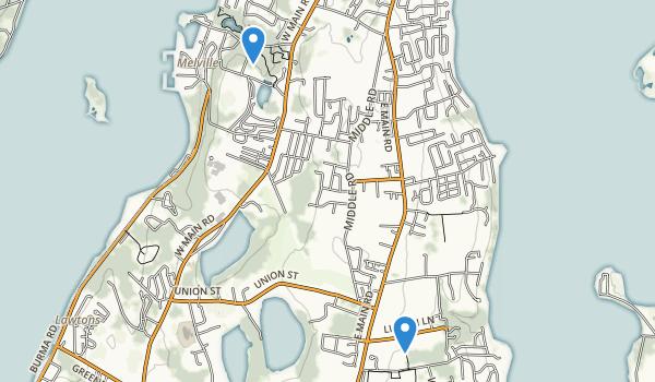 Portsmouth, Rhode Island Map