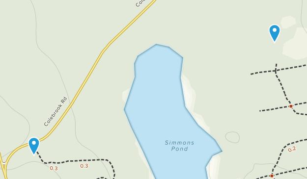 Pottersville, Rhode Island Map