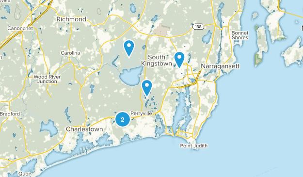 Wakefield, Rhode Island Map