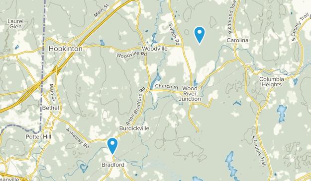 Wood River Junction, Rhode Island Map