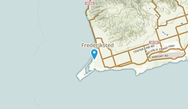 Frederiksted Southeast, Saint Croix Map