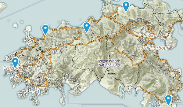Leinster Bay, Saint John Map