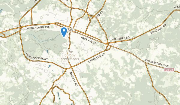 Aiken, South Carolina Map