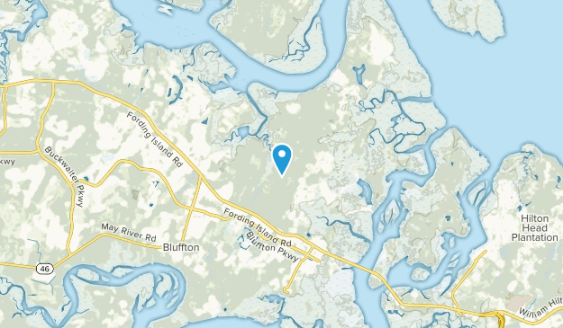 Bluffton, South Carolina Map