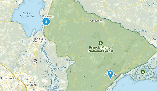 Bonneau, South Carolina Map