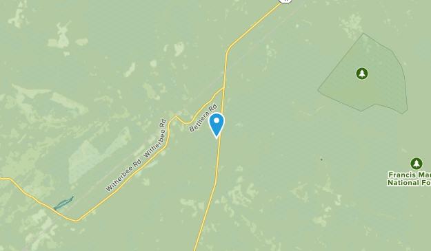 Cordesville, South Carolina Map