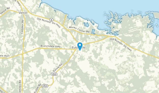 Eutawville, South Carolina Map