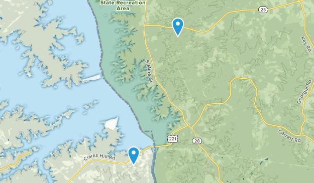 Modoc, South Carolina Map