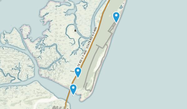 Oceanmarsh Subdivision, South Carolina Map