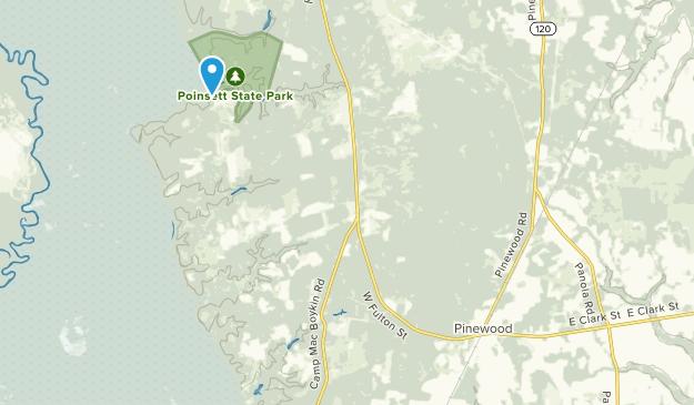 Pinewood, South Carolina Map