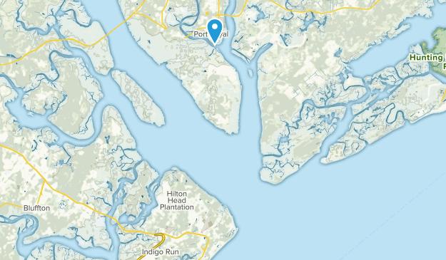 Port Royal, South Carolina Map