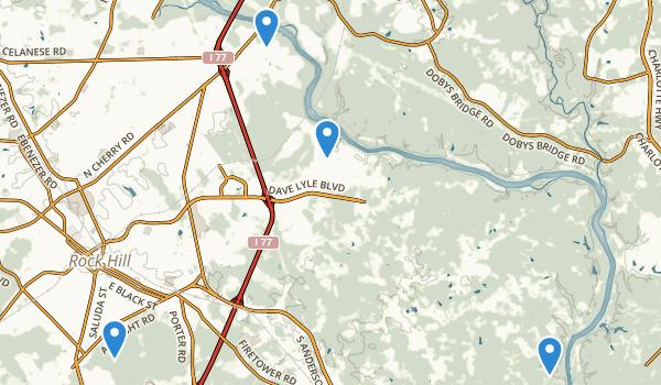 Rock Hill, South Carolina Map
