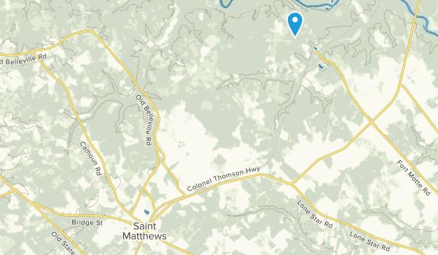 Saint Matthews, South Carolina Map