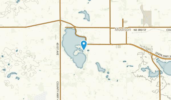 Herman, South Dakota Map