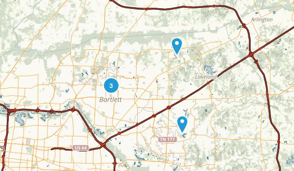 Best Trails Near Bartlett Tennessee AllTrails - Us Map Tennessee